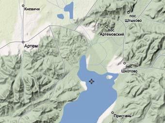 Карта Уссурийского Залива